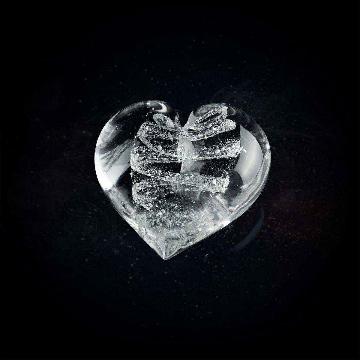 Pamětní sklo - srdce
